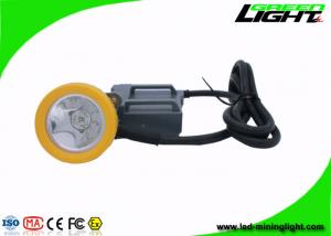 China 15000 Lux High Beam Mining Cap Lamp Miners Headlamp , Explosion Proof IP68 on sale
