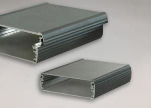 China Customized 6063 Silver Extruded Aluminum Profiles Standard Aluminium Extrusions on sale