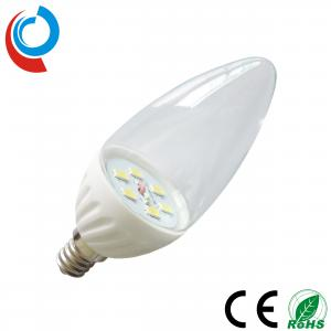 China 240~270lm 3W SMD 5630 LED Candelabra Ceramic Light Bulb E12 with 90~250 Volt Input on sale