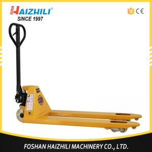 China Haizhili China Hot Sale DF pump 550mm 2.5 ton hand pallet jack with CE and ISO Certificate on sale