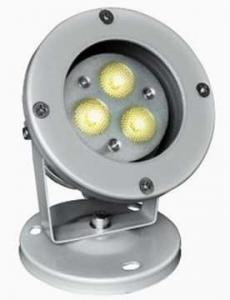 China 3w RGB Outdoor Garden Led Lights With Round & Spike Base IP67 on sale