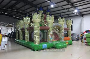 China Medieval Castle Themed Inflatable Playground on sale