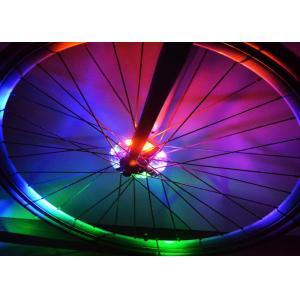 China Lumières multi décoratives de roue de couleur de résistant à l'eau avec la batterie LR44 sûre on sale