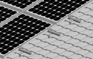 China Flexibility Rooftop Hooks Solar Power System Solar Panel Racking Structure on sale