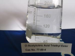 China ATEC 77-89-4 Citrate Plasticizer Triethyl 2- Acetylcitrate Non - Toxic Liquid on sale