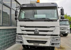 China ABS Service Brake Concrete Mixer Truck / Mini Cement Truck WD615.69 Model on sale