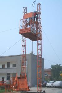China Safety device Electric Construction Hoist Elevator (double cages) / Building Elevator on sale
