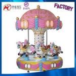2017 coin operation chiristmas carousel fairground rides 6 seats carousel horse amusement carousel rides for sale