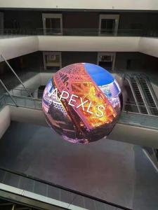 China Creative Full Color Curved LED Display / Spherical Led Screen For Advertising on sale