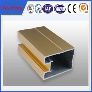 China aluminium louver door frame, aluminium sliding windows frame extrusion profiles on sale