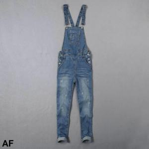 China A&F new 2015 styles woman romper jean brand denim jeans suspender jeans on sale