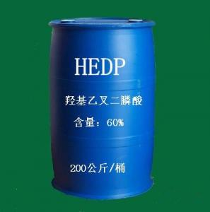 China High Quality Scale and Corrosion Inhibitor CAS 2809-21-4 HEDP 60% 90% from China on sale