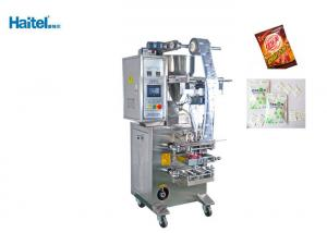 China Back Sealing Vertical Filling Machine , Stainless Steel Fill Seal Packaging Machine on sale