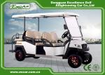 48V EXCAR 4 Wheel 6 Seat  Electric Golf Carts With CE Certificated golf buggy car