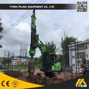 TYSIM KR40 Mini Hydraulic Drilling Machine Rig Tysim Piling