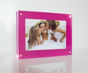 China customized high grade acrylic photo frames wholesale on sale