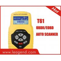 Multilingual CAN OBD2 & EOBD code scanner for European Cars-T61