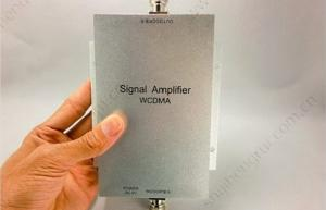 China 2100MHz Mini Mobile Indoor Mobile Phone Signal Repeater / WCDMA 3G Signal Booster For vehicle / car on sale