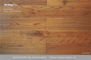 China Natural 18 mm antique european Oak wood floor with Rustic design on sale