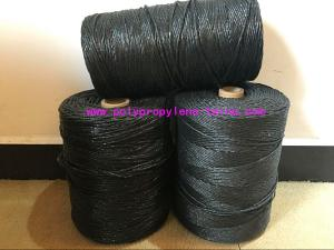 China Black Color Submarine Cable Filler Material , 100% Polypropylene Fillers on sale