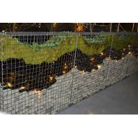 China Decorative Gabions Baskets for Gardens, Green Gabion Fences Wall for Landscape on sale