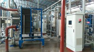China SS304 Stainless Steel Plate Heat Exchanger For Chemical Evaporation Condenser System on sale