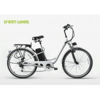 "Cruiser style electric city bike 250W electric assist bicycle with 26""X1.95 tire"