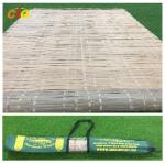 Summer Outdoor Furnitures Bamboo Sleeping Mat Raffia Grass Tied With Carrying Bag