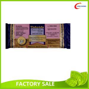 China A cor imprimiu os sacos de plástico do plano/soldadura térmica, sacos de empacotamento do produto comestível para o macarronete/pasta on sale