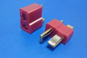 China Red Color 2 Poles Power Male And Female Connector 600V AC DC Votage Rating on sale