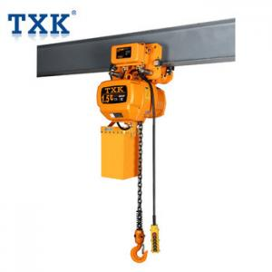 China 1.5t Trolley type Electric chain hoist with Inverse Phase Sequence Protecting Device on sale