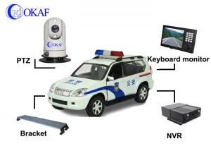China High Defination Vehicle PTZ Camera , Infrared Dome IP Camera PTZ Auto Tracking  on sale