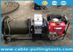 Câble de moteur diesel de vitesse rapide de 3 tonnes tirant et levant la machine de treuil