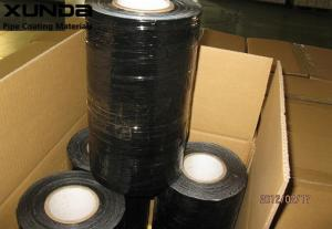 China Black Aluminium Foil Tape For Wrapping Of Insulation Covered Pipes And Tanks on sale