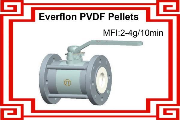 PVDF Resin / MFI 3-6 / Lining Grade / Virgin Pellets