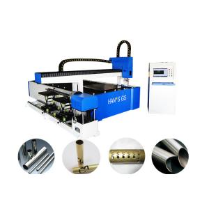 China Laser Steel Pipe Cutting Machine with Fiber Laser Generator - IPG on sale