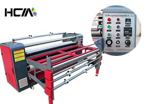 China Textile Sublimation Printing Machine / Roll to roll Transfer Heat Press Machine on sale