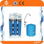 20 Inch Blue Home Water Filtration System Reverse Osmosis Tank  With Digital Display / Iron Shelf