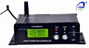 China LCD Display Window DMX Light Controller Wireless Receiver Transmitter 500 Meter on sale