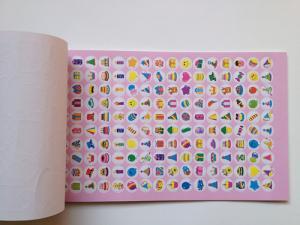 China crtoon cute various sticker album sticker cute book sticker tablet factory supply on sale