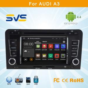 China Android 4.4.4 car dvd player for Audi A3 car radio dvd gps navigation system built in wifi on sale