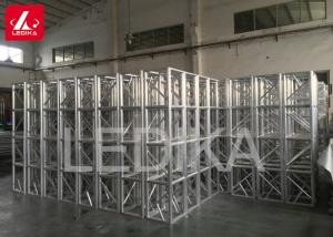 China 400mm Box Truss Aluminum Square Truss Stage Light Frame PlateTruss on sale