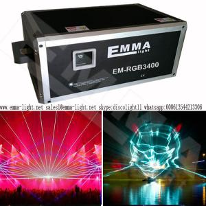China outdoor building Projector , laser show outdoor , Rgb laser 40w , laser show animation on sale