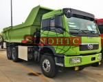 20 - 30 Tons Earthmoving Heavy Duty Tipper Trucks , 3 Axle 10 Wheeler Dump Truck
