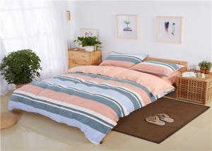China Super Comfortable Cotton 200TC Orange Bedding Sets / Bedroom Comforter Sets on sale