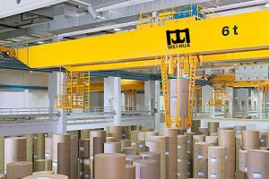 China Double Girder Overhead Crane for Paper Making on sale