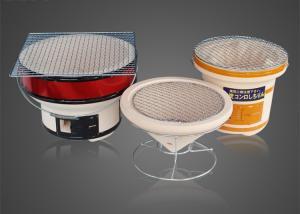 China Japanese Ceramic Bbq Brazier Shichirin Hibachi Camping Charcoal Barbecue on sale