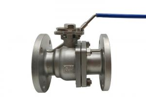 China Class 150LB CF8 Stainless Steel Flanged Ball Valve 2 Inch Operating By Handle on sale