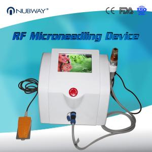 China Beauty Salon Equipment 3 Different Pins Fractional RF Micro Needle Skin Rejuvenation Machine on sale