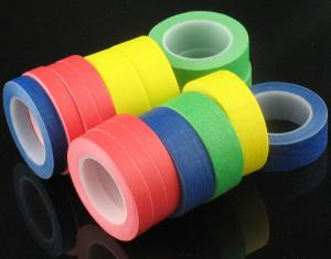 China High Temperature Resistance Crepe Paper Masking Tape for Car Painting Masking Tape for Stoving Varnish on sale